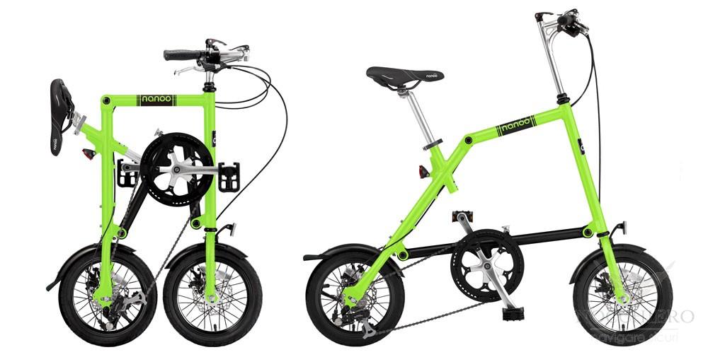 Bici Pieghevole Nanoo Prezzo.Nanoo Bici Pieghevole Fb 14